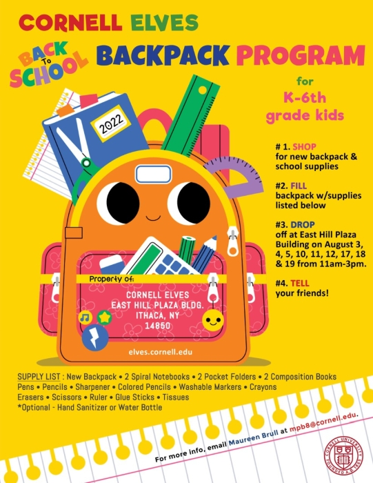 Click to Download the Backpack Program Flyer